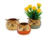 @75Set of 3 ceramic pot