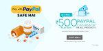 Netmeds: 50% Cashback Upto 500 Cashback for Paypal New User