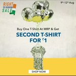 Buy 1 and get 2nd @ ₹1