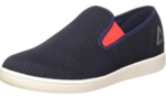 Reebok Men's Tread Smooth Navy/Glow Red/Metsil/Wht Loafers and Moccasins