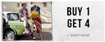 Myntra : Buy 1 Get 4 On Fashion