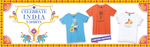 Celebrate India Theme: T-shirt, Get additional 50% (max Rs.200) Cashback on First transaction on PayPal