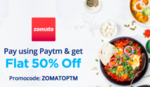 zomato-50% off up to Rs 100.
