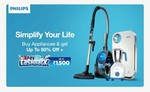 Philips appliances Flash Sale - Up to 50% off + Up to ₹1500 cash back
