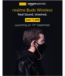 AmazonSpecials: realme Buds Wireless (Launching tomorrow at 1799/-)
