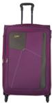 Skybags Rubik Polyester 58 Cms Purple Softsided Cabin Luggage (STRUW58EPPL)