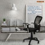 Savya Home Apex Chairs Delta Mb Umbrella Base Office Chair (Black)