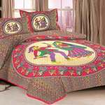 Cotton Double Printed Bedsheet @ 369 Rs.