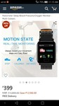 A6 Fitness Tracker with Heart Rate Monitor IP67 Waterproof Fitness Band Calorie Counter Sport Watch Pedometer Sleep Blood Pressure/Oxygen Monitor - Multi Colours