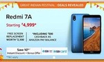 Redmi 7A on amazon with free screen replacement + 10% instant discount on SBI Debit card