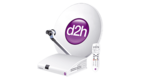 Videocon d2h - 50% cashback upto 300 with Paypal on d2h website (Paypal's first ever txn)