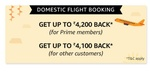 [Upcoming] Amazon GIF :- Get Upto 4200₹ Cashback on Domestic Flights using Amazon Pay ICICI Credit Card || Prime Members Only