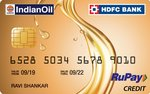 HDFC & IndianOil launch RuPay & Visa credit card