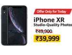 iPhone XR for Rs 39999 + SBI 10% off