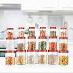 Milton Vitro Plastic Jar Set, 18- Pieces at Rs.499