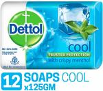 Dettol cool Soap 125 g (Pack of 12)