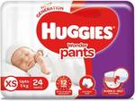 huggies wonder pant daipers Xs qty 24 for 99
