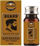 Alcamy Beard Growth Hair Oil ( Lavender ) Hair Oil