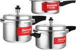 FLASH SALE 6PM-7PM | Min 54-74% Off on Pressure Cookers Pigeon, Butterfly & Wonderchef