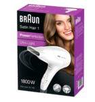 Braun White Satin Hair Dryer HD 180