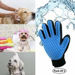 Dog Cat Massage Hair Removal Cleaning Brush Magic Glove