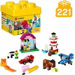 LEGO Classic Creative Bricks Building Blocks for Kids ,Multi Color (221 pcs) 10692