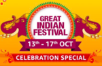 (Live For Prime Members) Amazon Great Indian Festival Sale 10% off via ICICI Bank Cards + Bonus Offer | 13-17 Oct