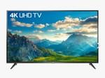 TCL 107.88CM 43 INCHS Smart ultra HD 4k lED TV Black