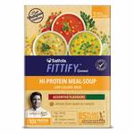 [again]Saffola FITTIFY Gourmet Hi-Protein Meal Soup, Assorted Flavours, 3 x 53 g