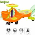 Baybee Swinging Magic Car with PP Wheels with LED Lights-Kids Ride on Push car
