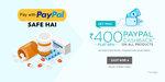 Get 50% Cashback Upto 400 on 1st Ever PayPal Transaction on Netmeds