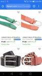 United colours of Benetton belts upto 92% off starting @ 149
