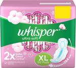 Whisper ultra XL 50Pads @ 238 on Flipkart (buy 3 for extra 10% and 4 or more for extra 15% discount)