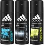 Adidas Deo Pack Of 3