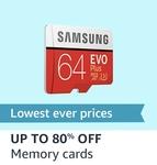 Upto 80% Off Memory card