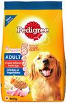 Pedigree Dry Dog Food, Chicken and Milk, 400g Pack - 60% coupon