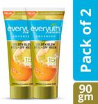 Everyuth Naturals Advanced Golden Glow Peel-Off Mask With 24k Gold, 90 g (Pack of 2)
