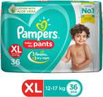 Pampers New Extra Large Size Diapers Pants
