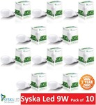 Syska 9w bulb B22 Basa pack of 10 at Rs 687 with 2 years warranty