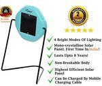 i-SOLARLITE FIZI LED Wall Mountable Solar Emergency Light (Sky Blue)