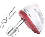 Inalsa Hand Mixer Easy Mix-200W with 7 Speed Control & Detachable Stainless-Steel Finish Beater & Whisker  In-Built Eject Knob & Slim Grip,(Red/White)