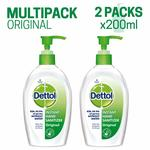 Dettol Germ Protection Instant Hand Sanitizer - 200 ml (Original, Pack of 2)  pack of 3 @ 270[66 % off ]