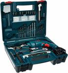 Bosch GSB 500W 10 RE Professional Tool Kit, MS and Plastic (Blue, Pack of 100)@ 2899
