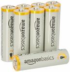 AmazonBasics AA Performance Alkaline Non-Rechargeable Batteries (8-Pack) - Packaging May Vary