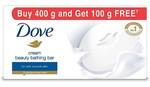 Dove Cream Beauty Bathing Bars (4 + 1 * 100g)