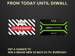 Collect Points & Win a VU Smart TV Everyday [Mega Giveaway]
