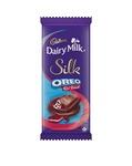 Cadbury Dairy Milk Silk Oreo Red Velvet, 130g - Pack of 3