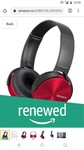 Renewed Sony mdt xb450 extra bass headphones