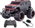 Toy Collection Off Road Monster Racing Car, Remote Control , 1:20 Scale, Black  (Black)