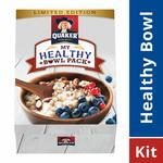 59% Off : Quaker Oats - 1 Kg with Wooden Bowl & Spoon at Rs.185